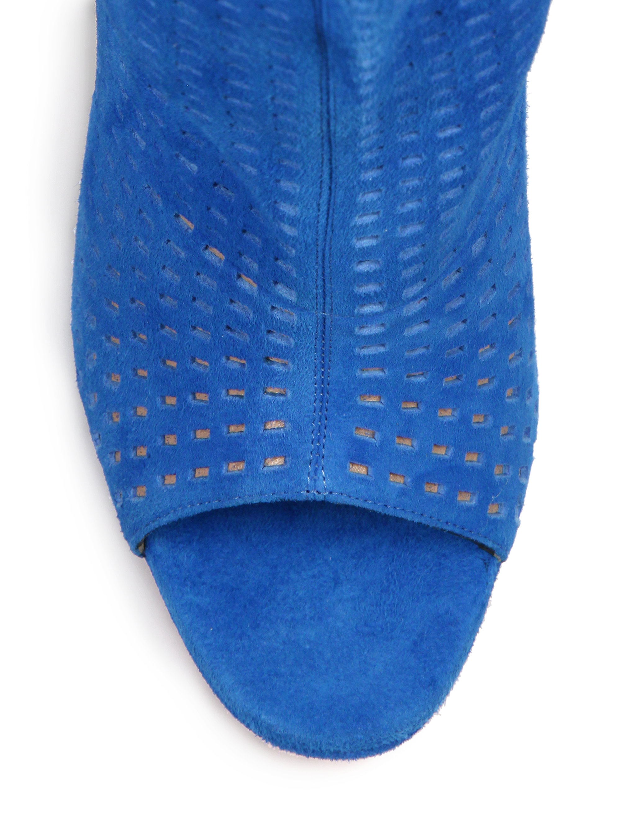 louboutin jennifer boot blue