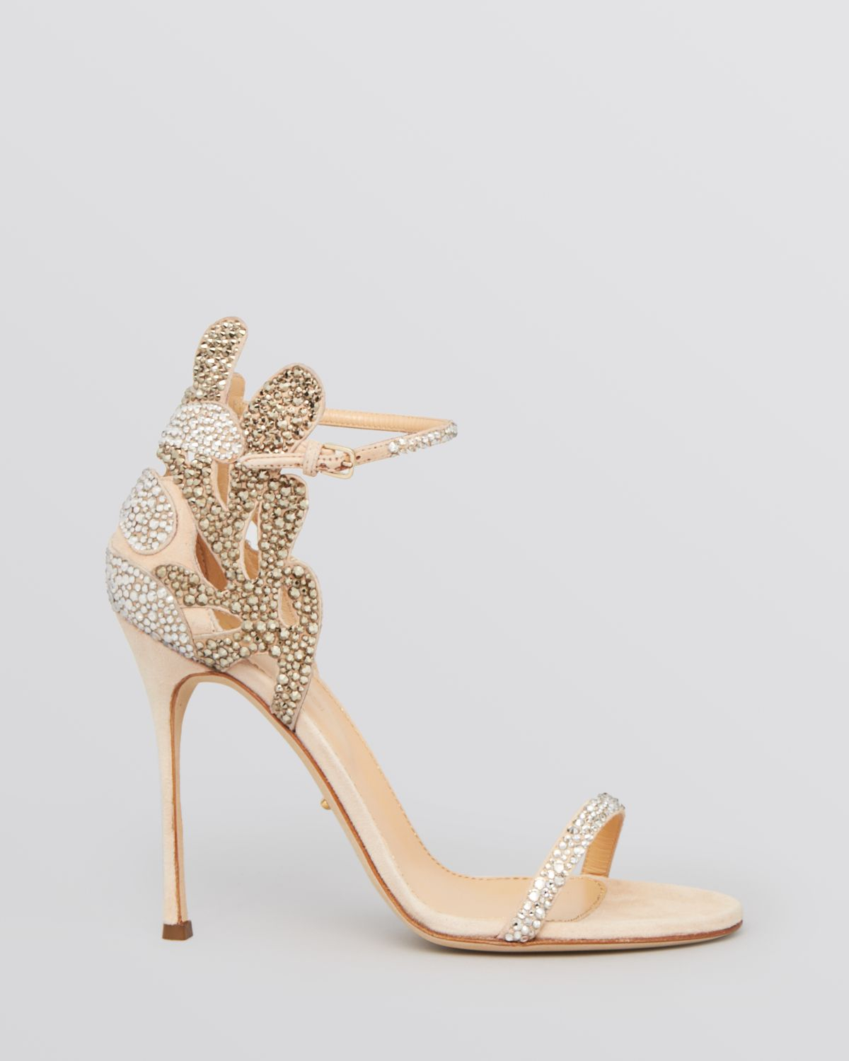 Sergio rossi Ankle Strap Evening Sandals - Matisse Filigree High