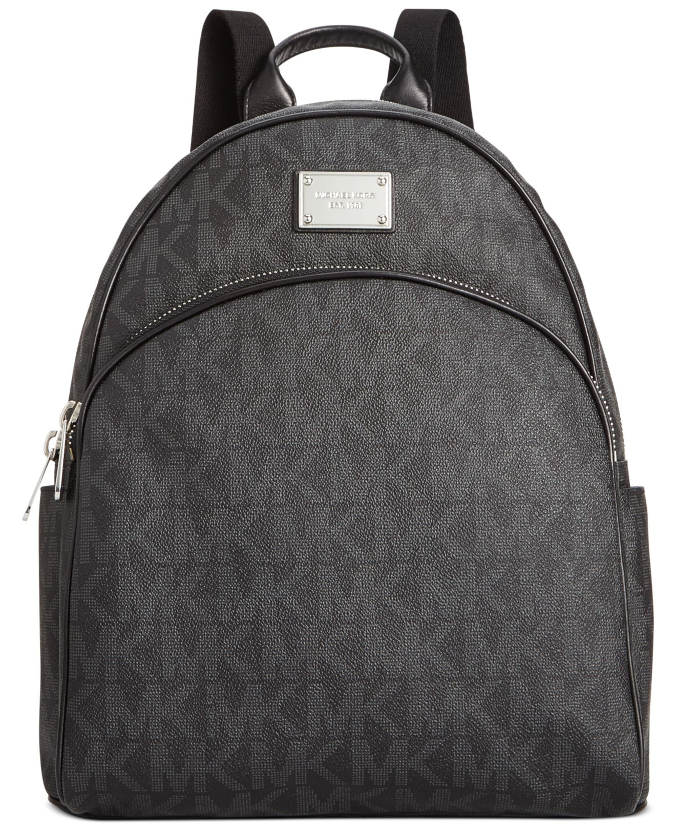 7ee68b1f4954 ... low cost lyst michael kors michael signature large backpack in black  4f2fd 92d85