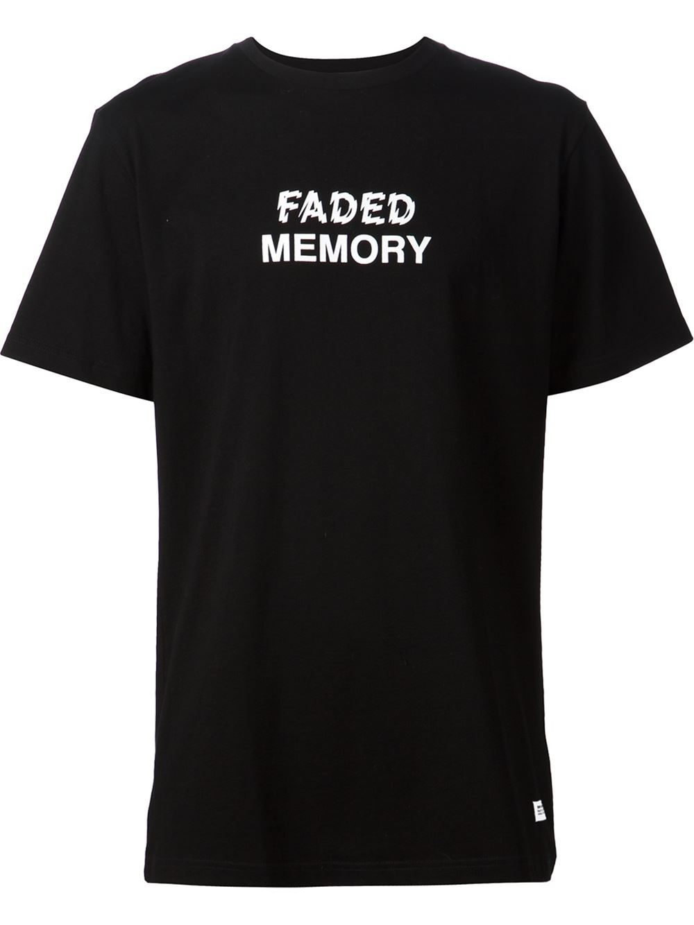 Stampd 39 faded memory 39 t shirt in black for men lyst for Faded color t shirts
