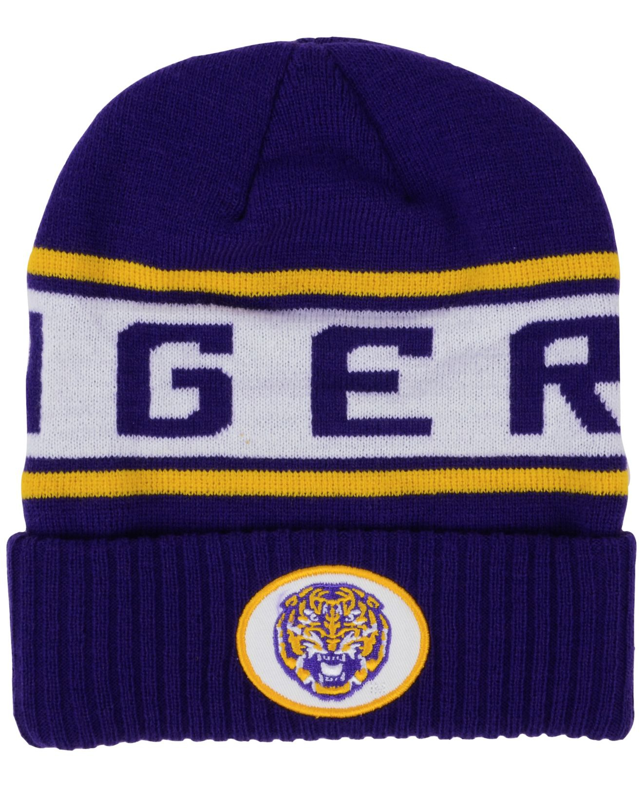 super popular 13e72 06f6b Lyst - Nike Lsu Tigers Sideline Knit Hat in Blue for Men