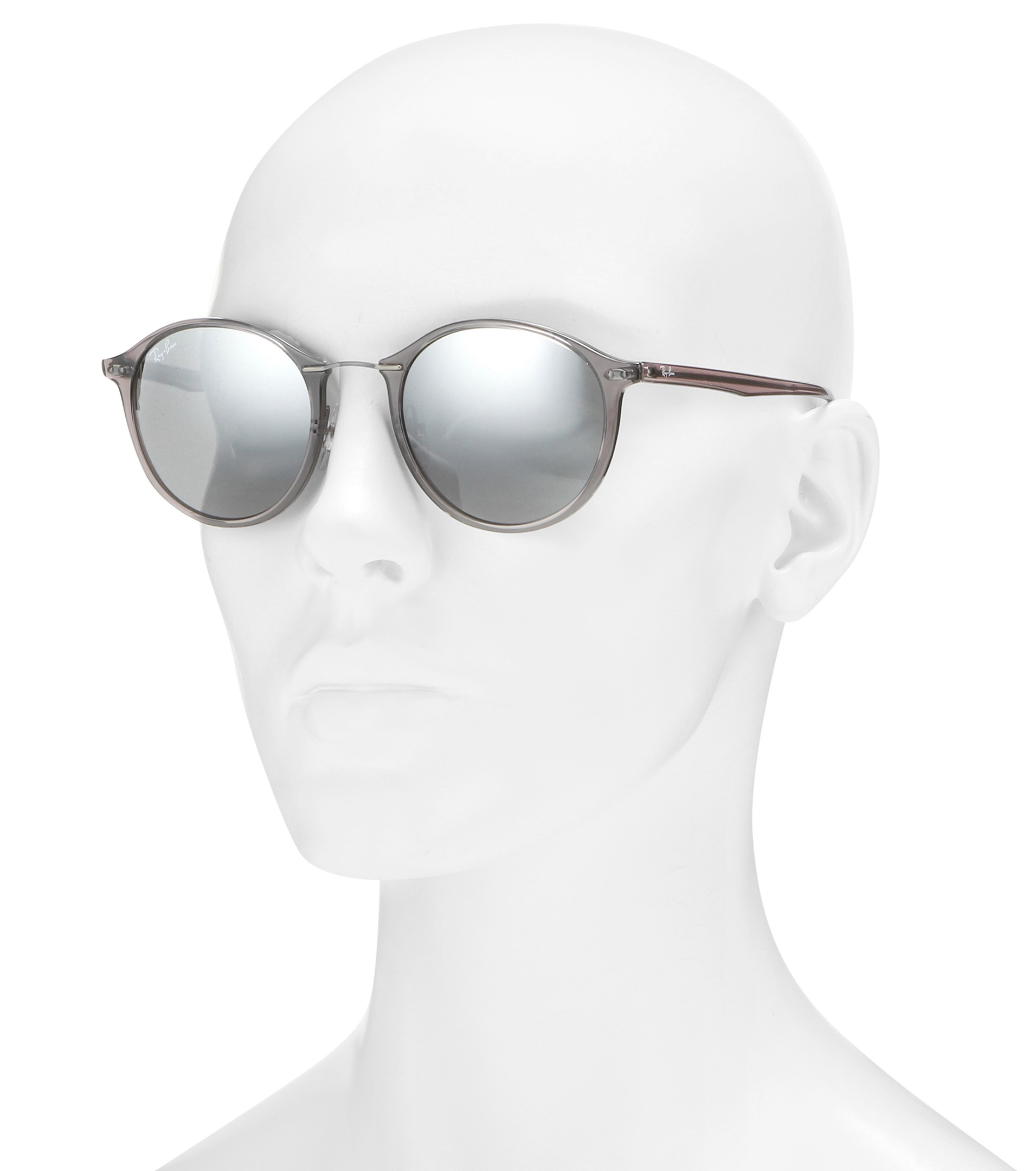 11bcad46c0 Lyst - Ray-Ban Rb4242 Round Sunglasses in White