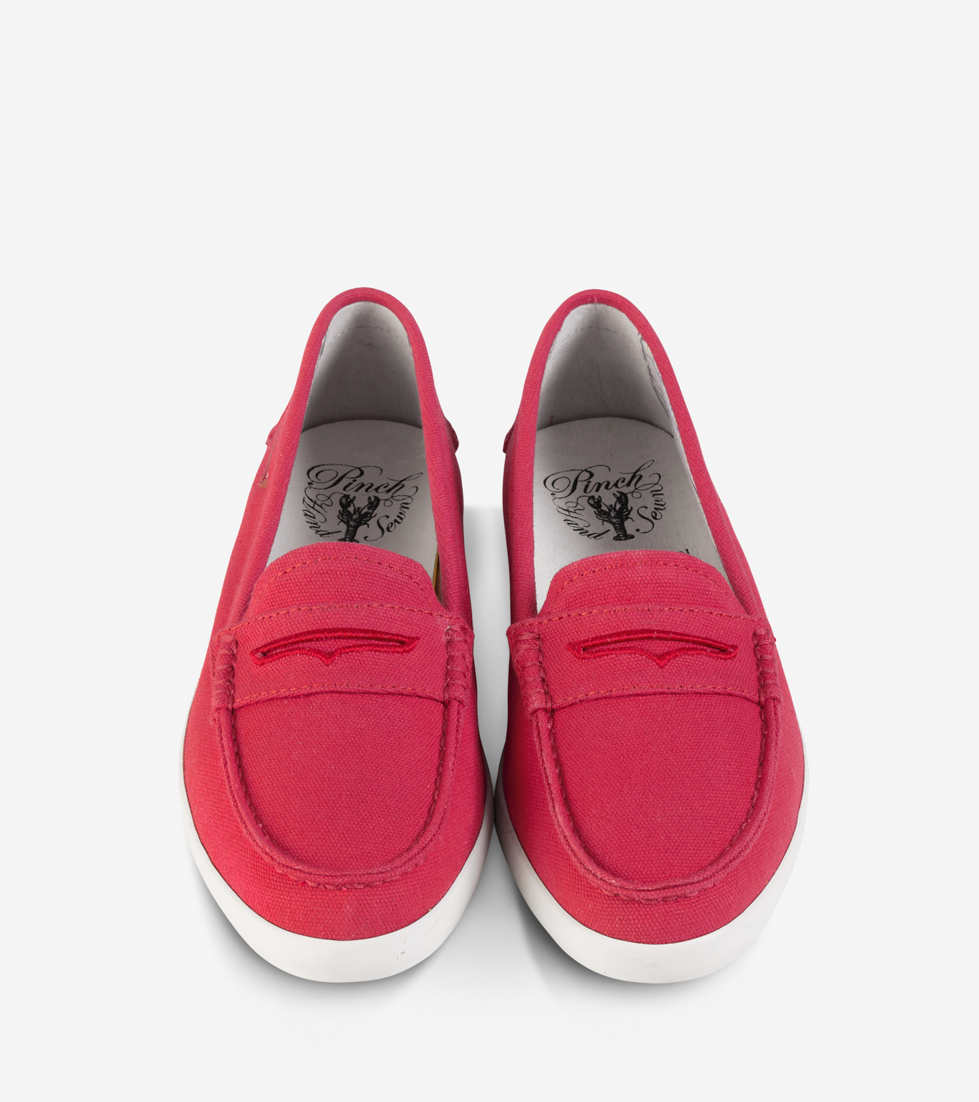 Womens Shoes Cole Haan Pinch Weekender Red Canvas