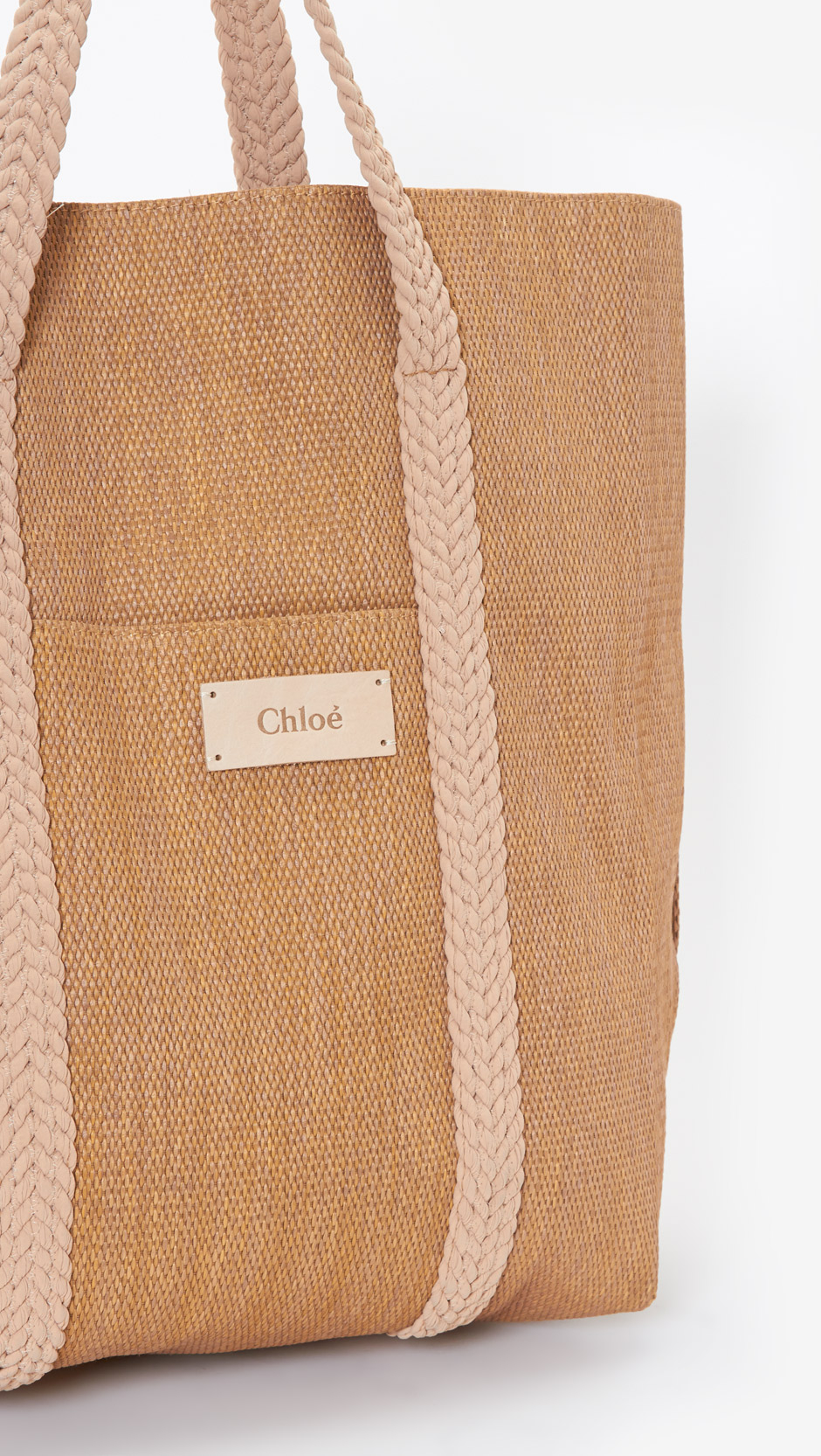 Chloé Beach Bag in Brown | Lyst
