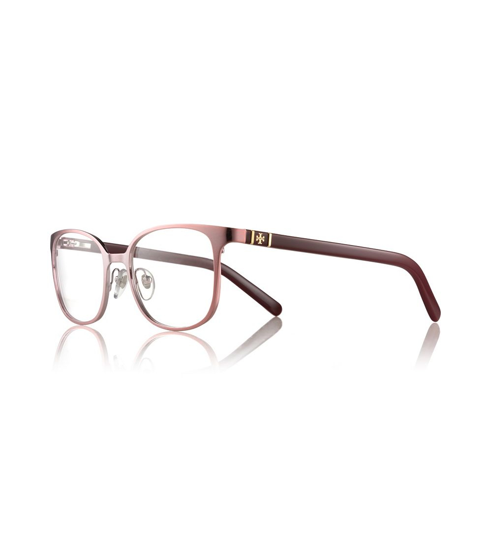 880d2c1db958 Tory Burch Mixed-Media Eyeglasses in Pink - Lyst
