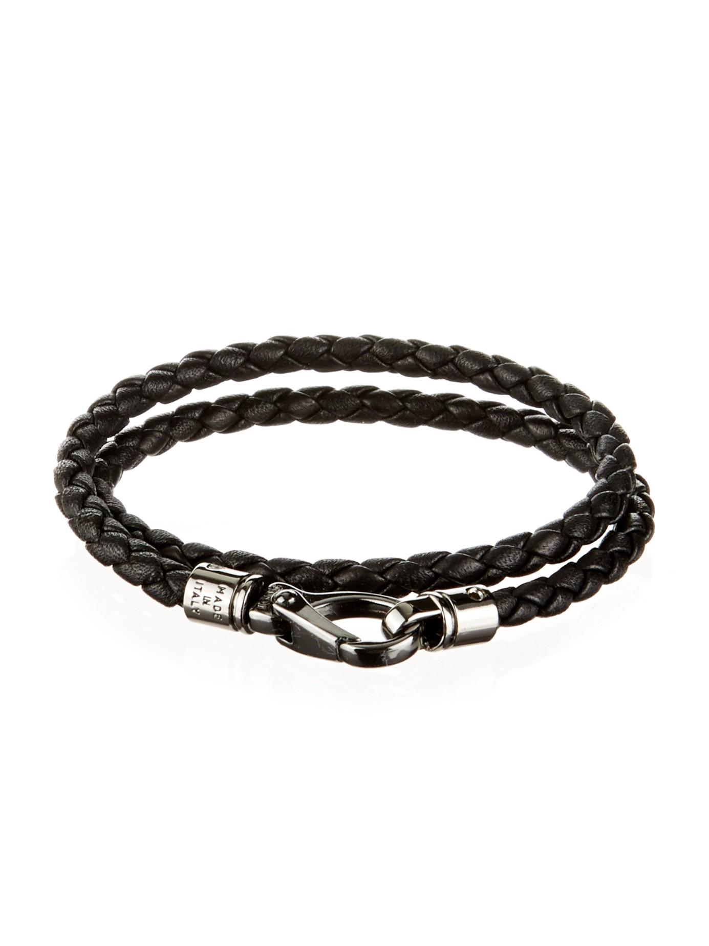 Tod's classic woven bracelet - Black qzh8IfE
