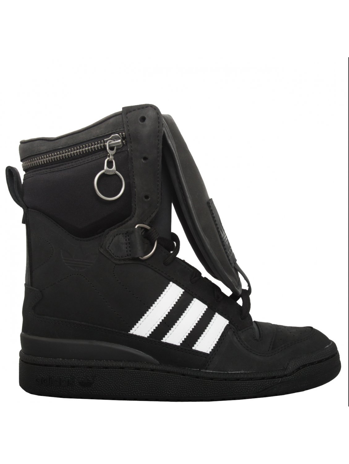 Jeremy scott for adidas Tall Boy High Sneakers Black in ...