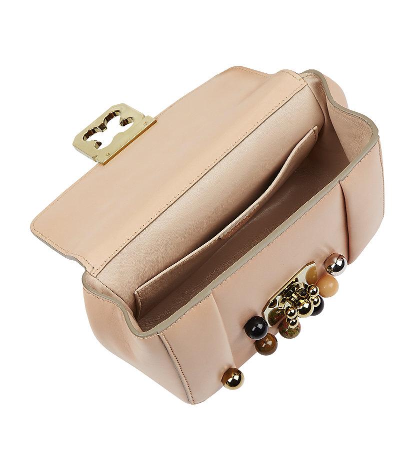 chloe replica handbag - chloe embellished handle bag, chloe bags online