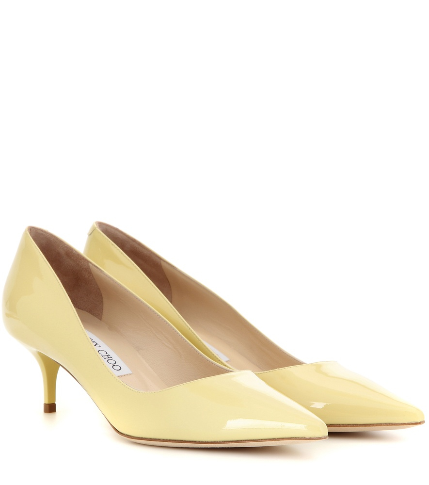 White Leather Shoes Turning Yellow