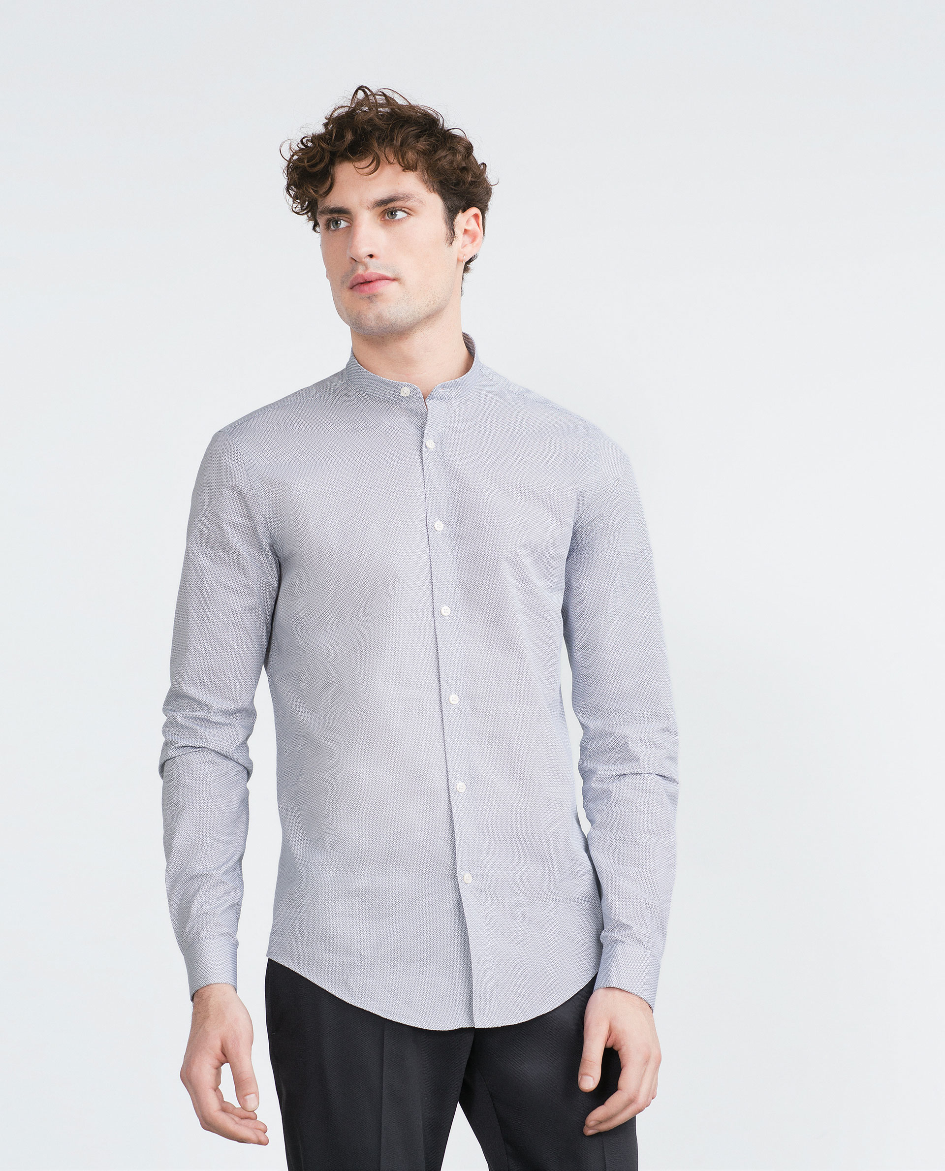 Shop mandarin collar shirt at Neiman Marcus, where you will find free shipping on the latest in fashion from top designers.