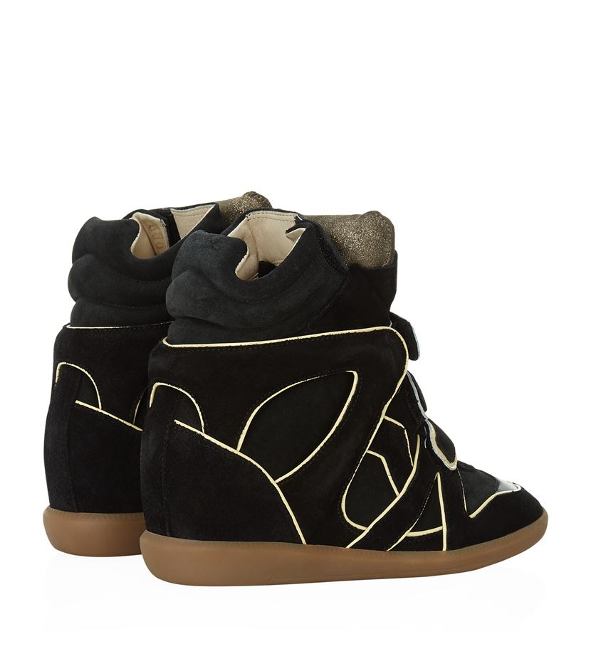 clearance cheap online Isabel Marant Wila Wedge Sneakers recommend cheap sale countdown package OKWMsBlz4