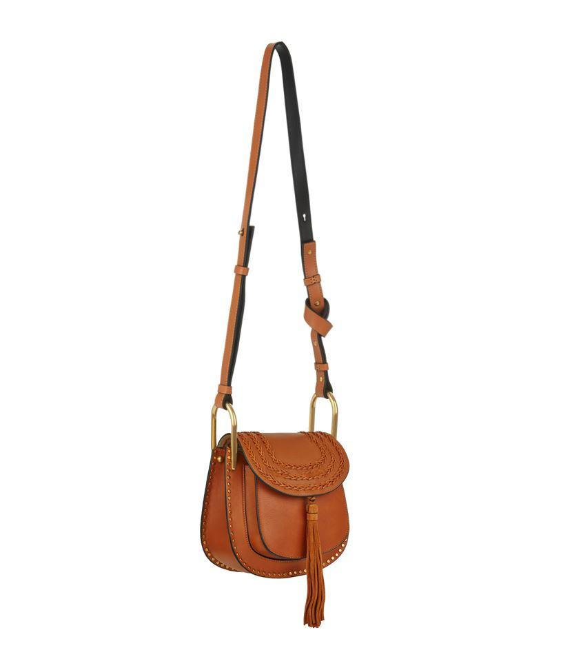 Chlo�� Small Hudson Shoulder Bag in Brown | Lyst