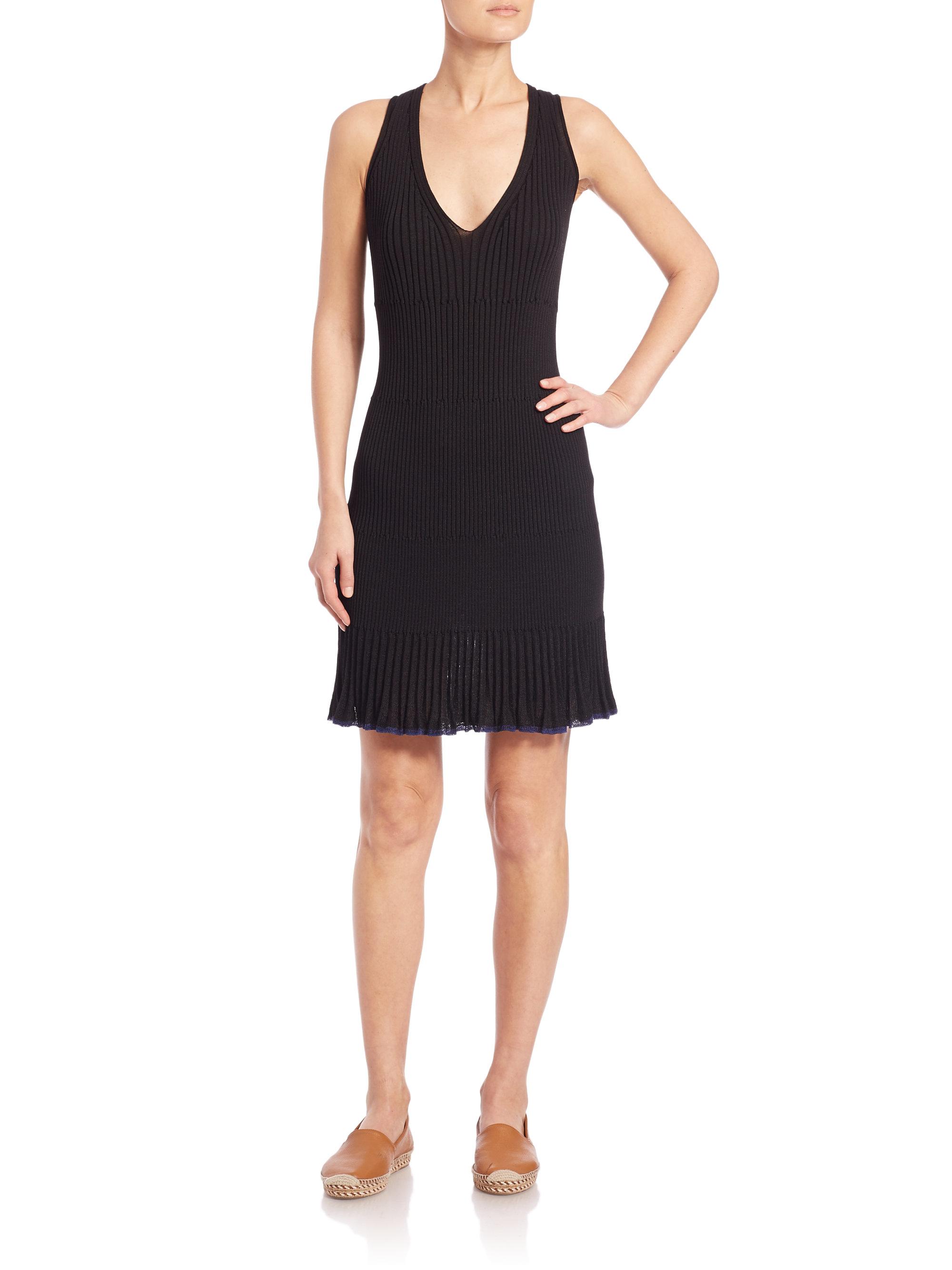 Lyst - Rag U0026 Bone Yasmine Dress In Black