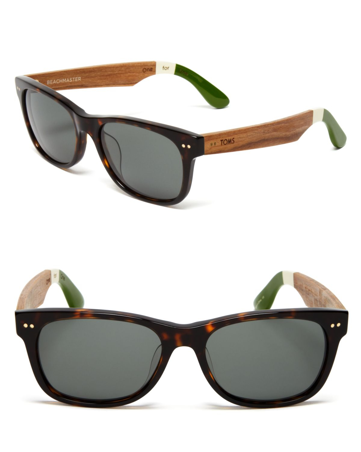 8803b50701fd Lyst - TOMS Beachmaster Sunglasses in Brown
