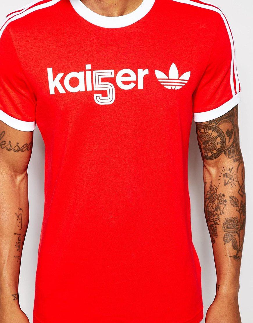 adidas originals beckenbauer tshirt