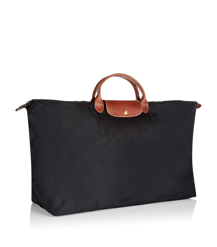 longch le pliage large travel bag in black lyst