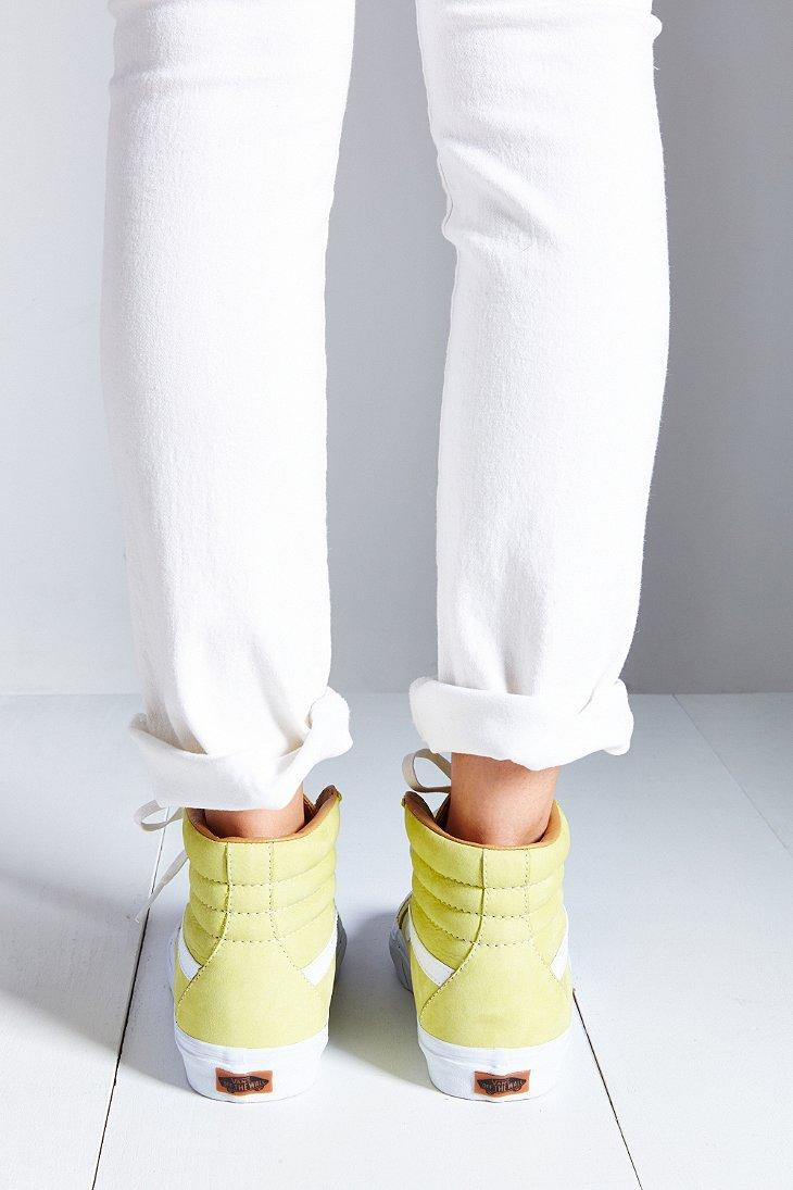 c9a1b891919d76 Lyst - Vans California Sk8-Hi Buttersoft Reissue Sneaker in Yellow