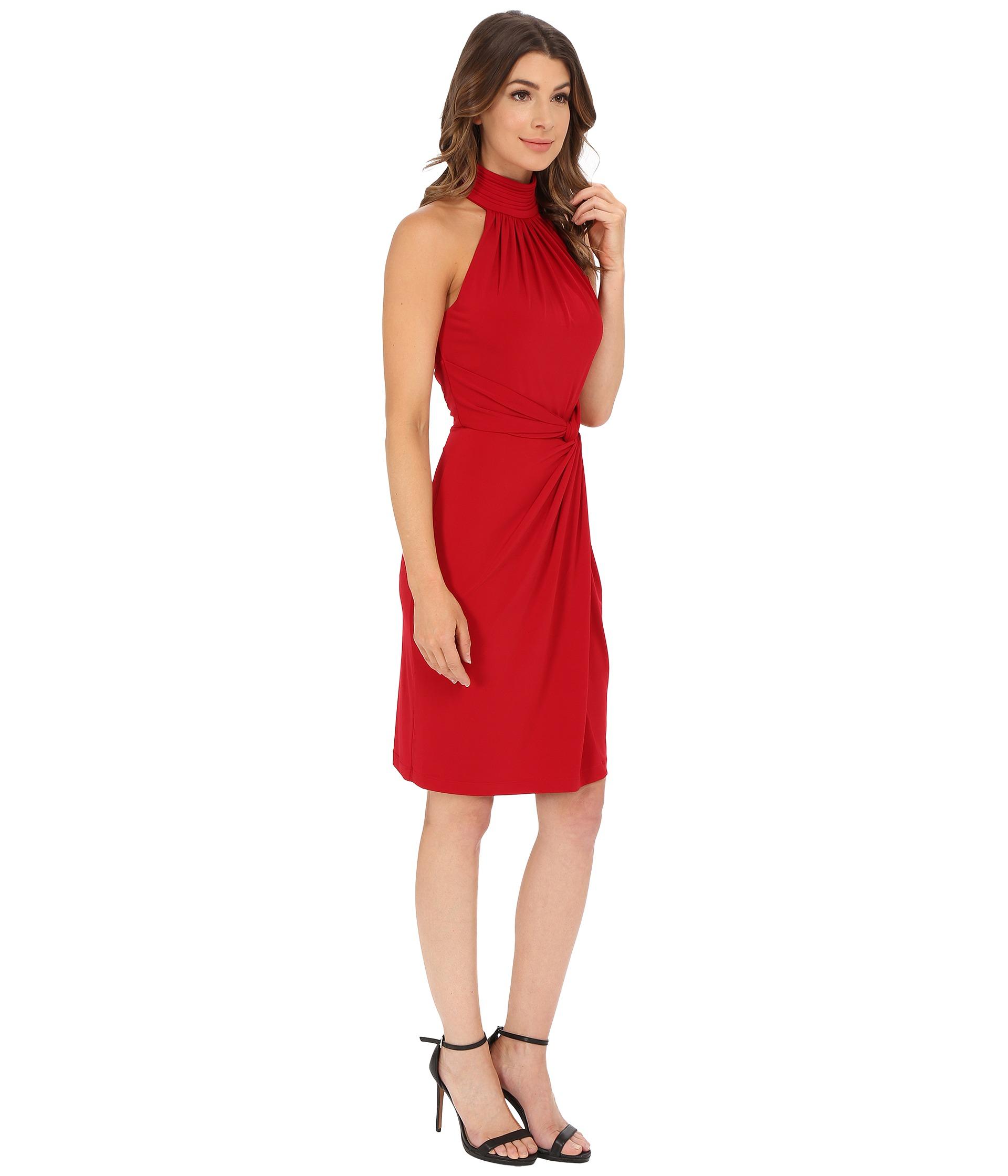 Lyst - Catherine Malandrino Jazz Dress in Red