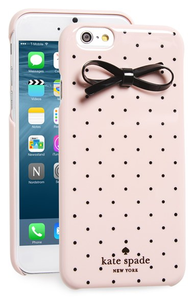 Bow Iphone Case Kate spade u0026#39;gold dot u0026 bow u0026#39; iphone 6 u0026 6s case in ...