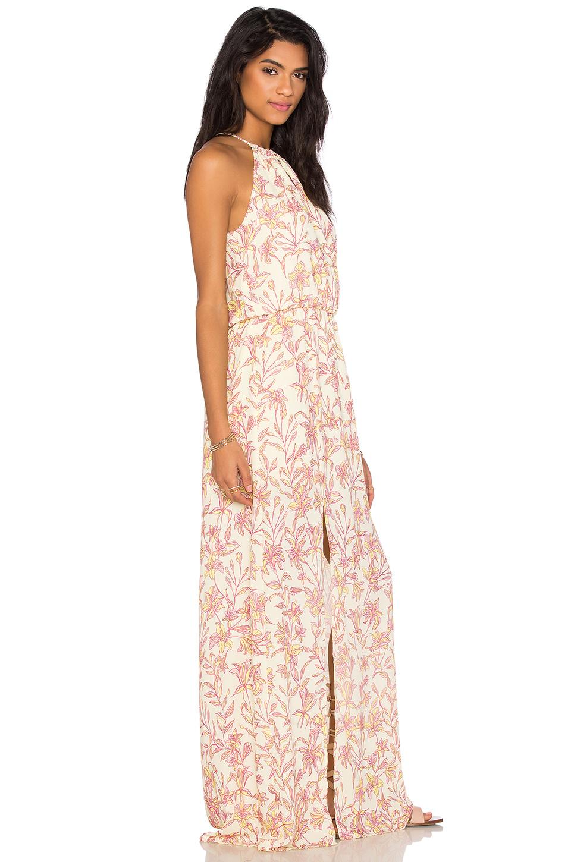 Front keyhole maxi dresses