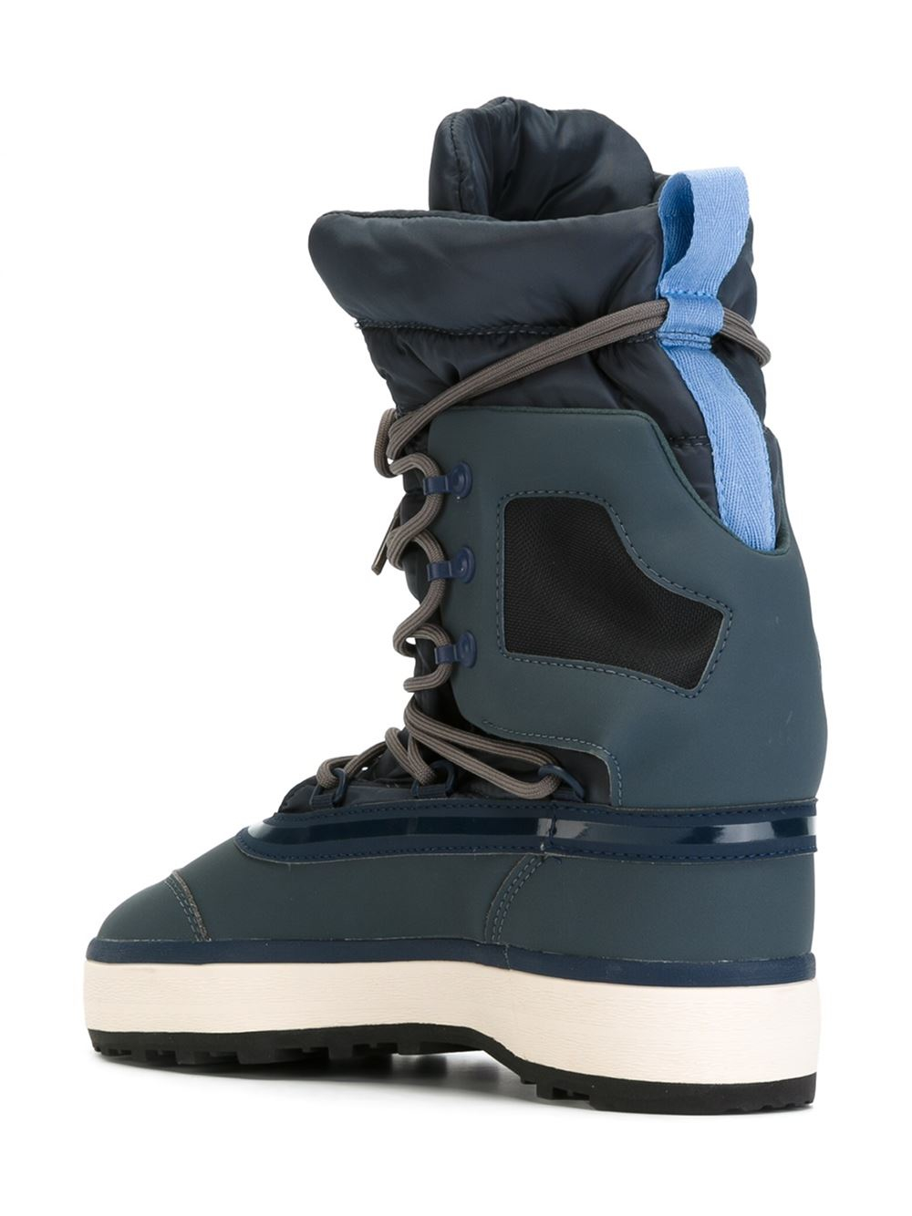 Adidas by stella mccartney Lace-up After Ski Boots in Brown | Lyst