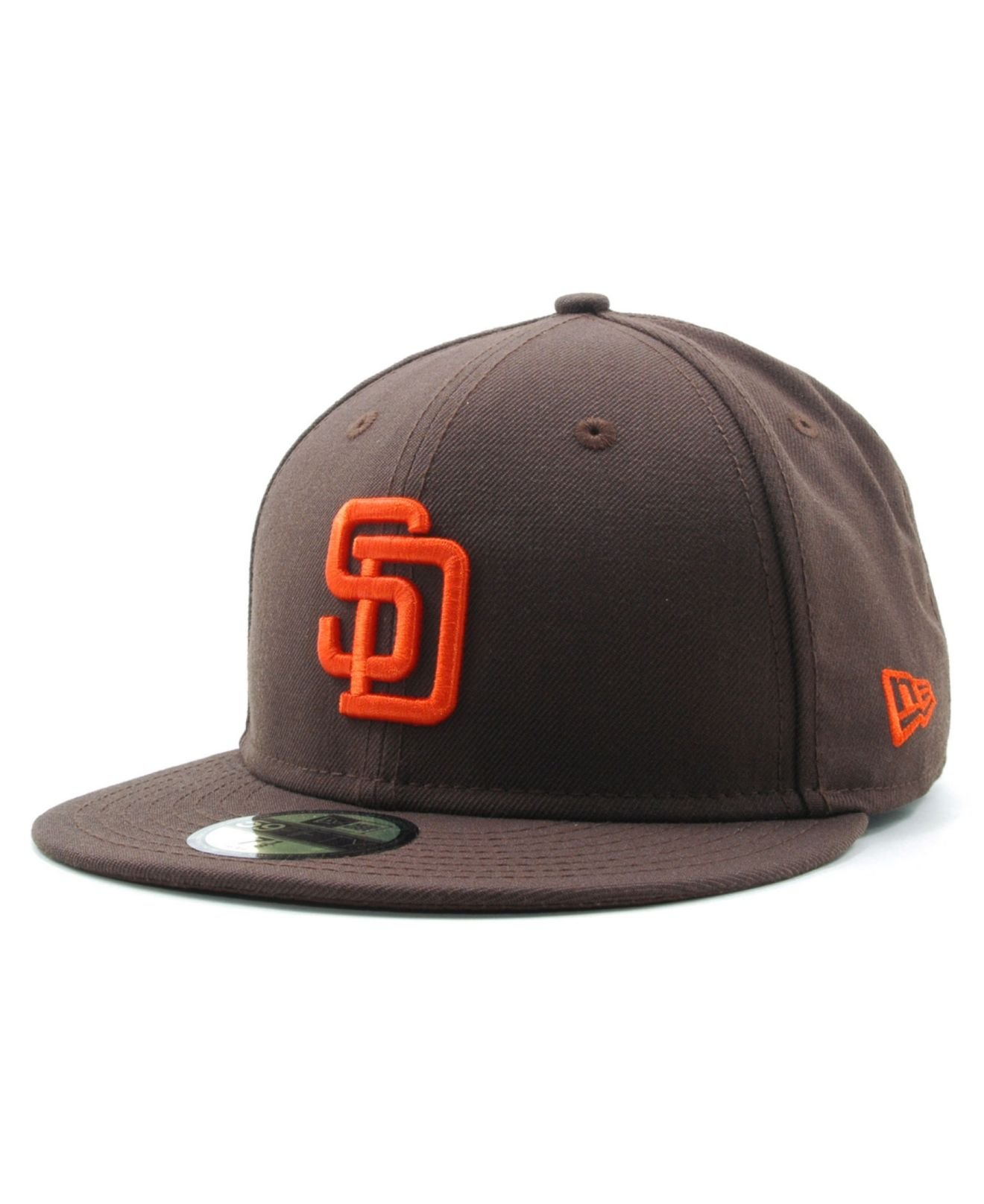 quality design 99613 8f8b2 ... cheapest lyst ktz san diego padres cooperstown 59fifty cap in brown for  men 480ec b6ab3