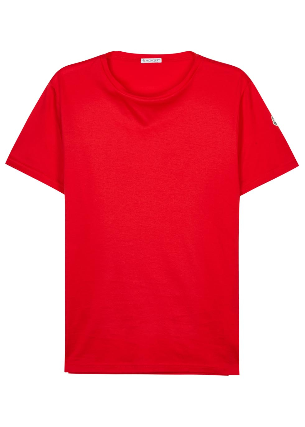 moncler red t shirt