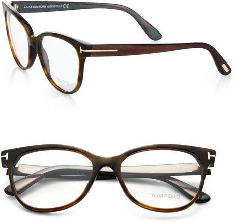 tom ford cat 39 s eye optical glasses in brown havother lyst. Cars Review. Best American Auto & Cars Review