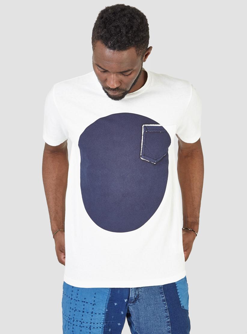 Indigo Hand-Dyed Big Slub T-Shirt Blue Blue Japan Get New Official qKLuq