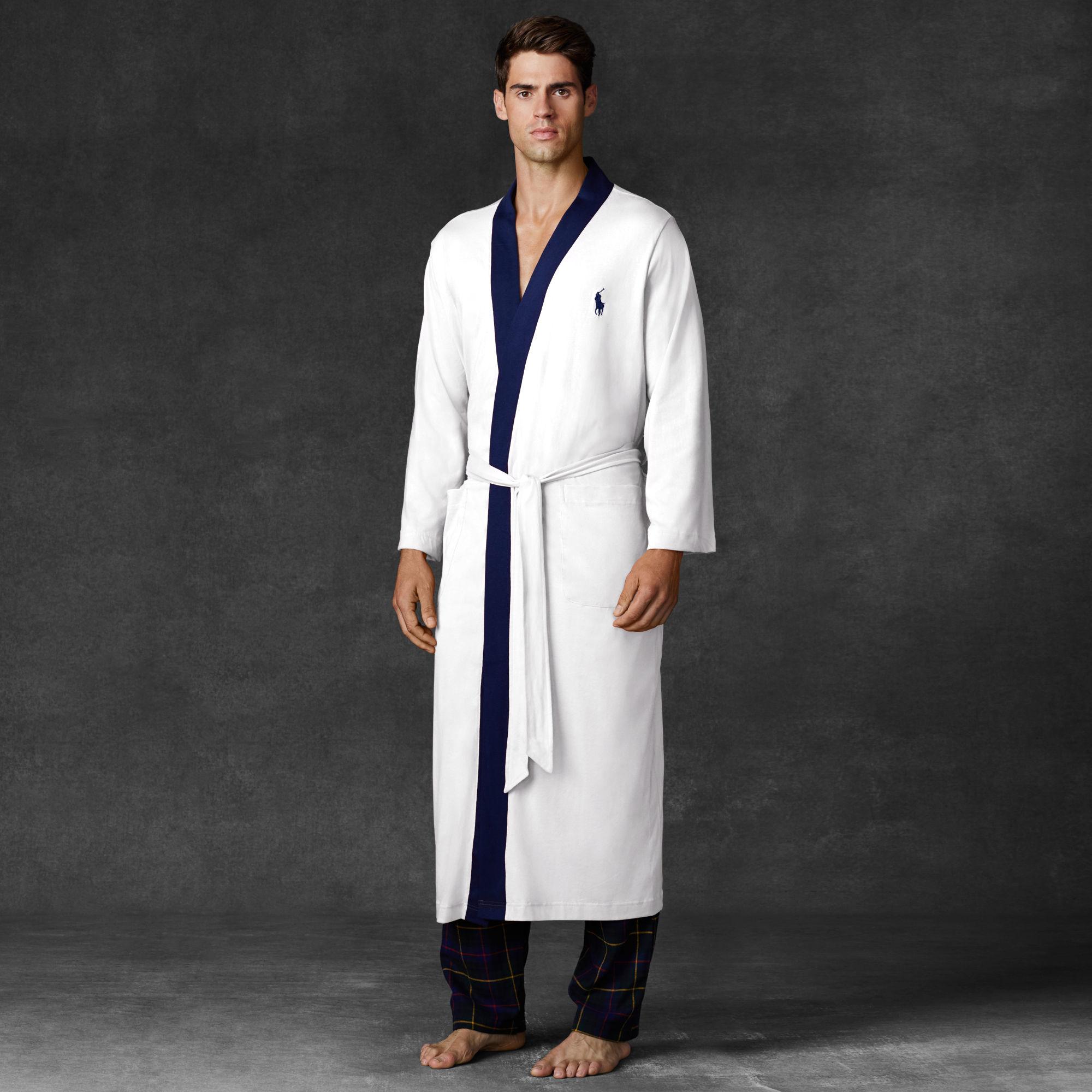 Ralph Lauren Mens Beach Towel: Polo Ralph Lauren Towelling Robe