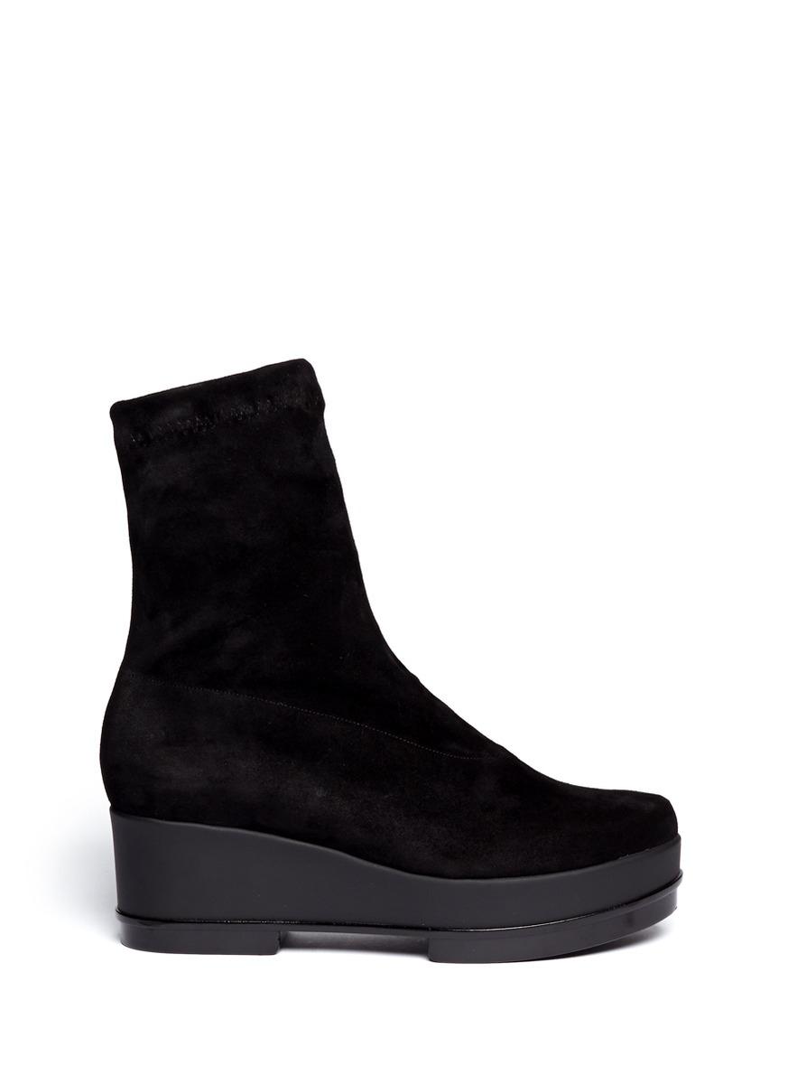 Lyst Robert Clergerie Natul Winter Boot In Black