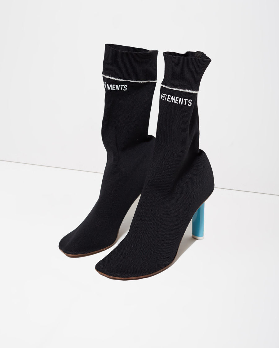 Lyst Vetements Sock Boot In Black