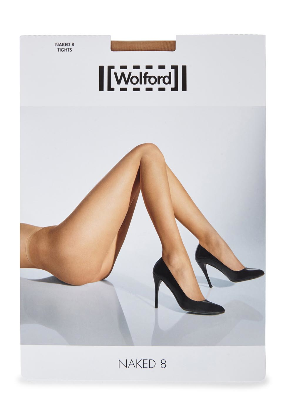 d05932de84cd12 Wolford Naked 8 Denier Caramel Tights - Size L - Lyst