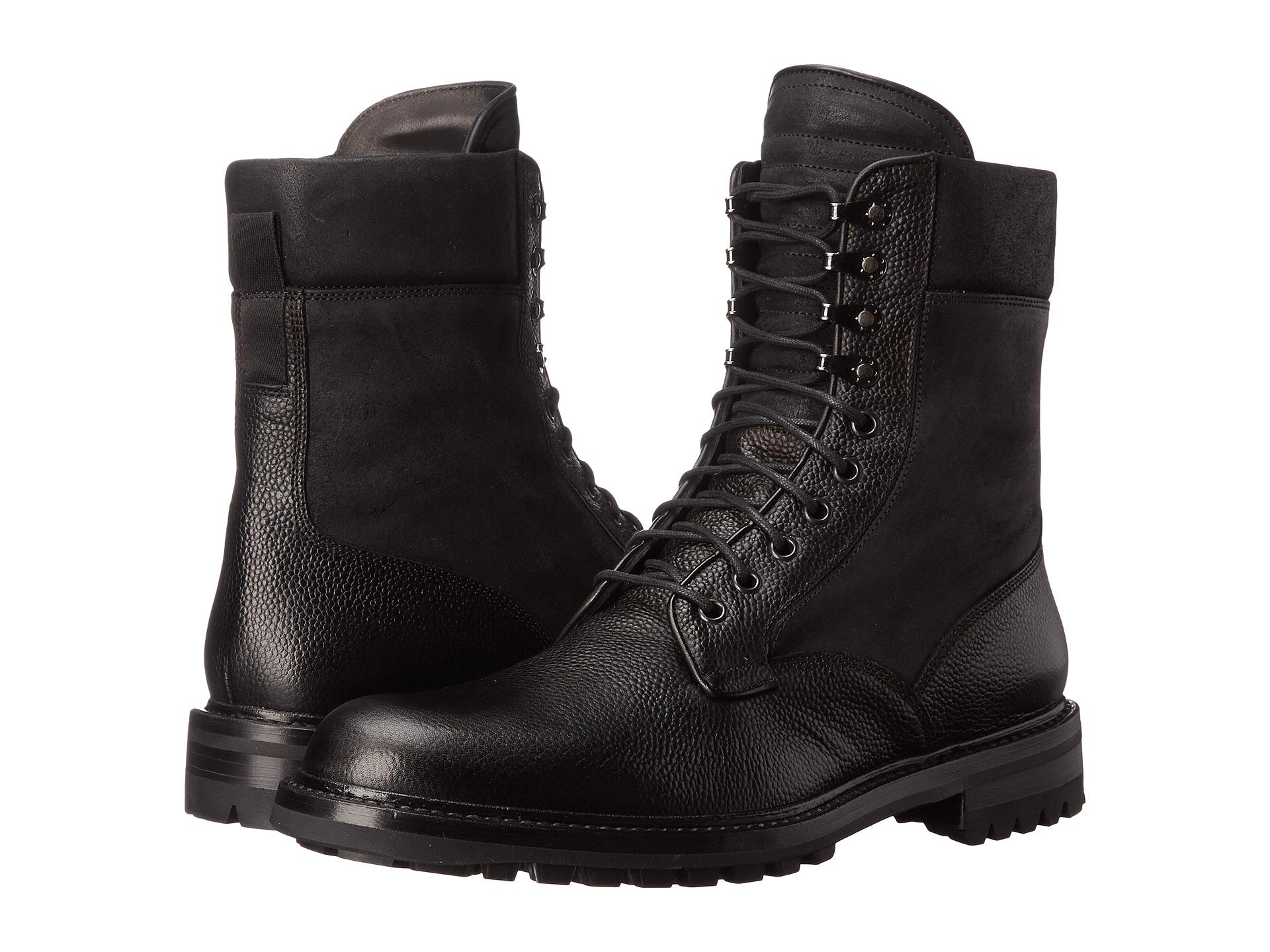 rag bone spencer commando boot in black for lyst