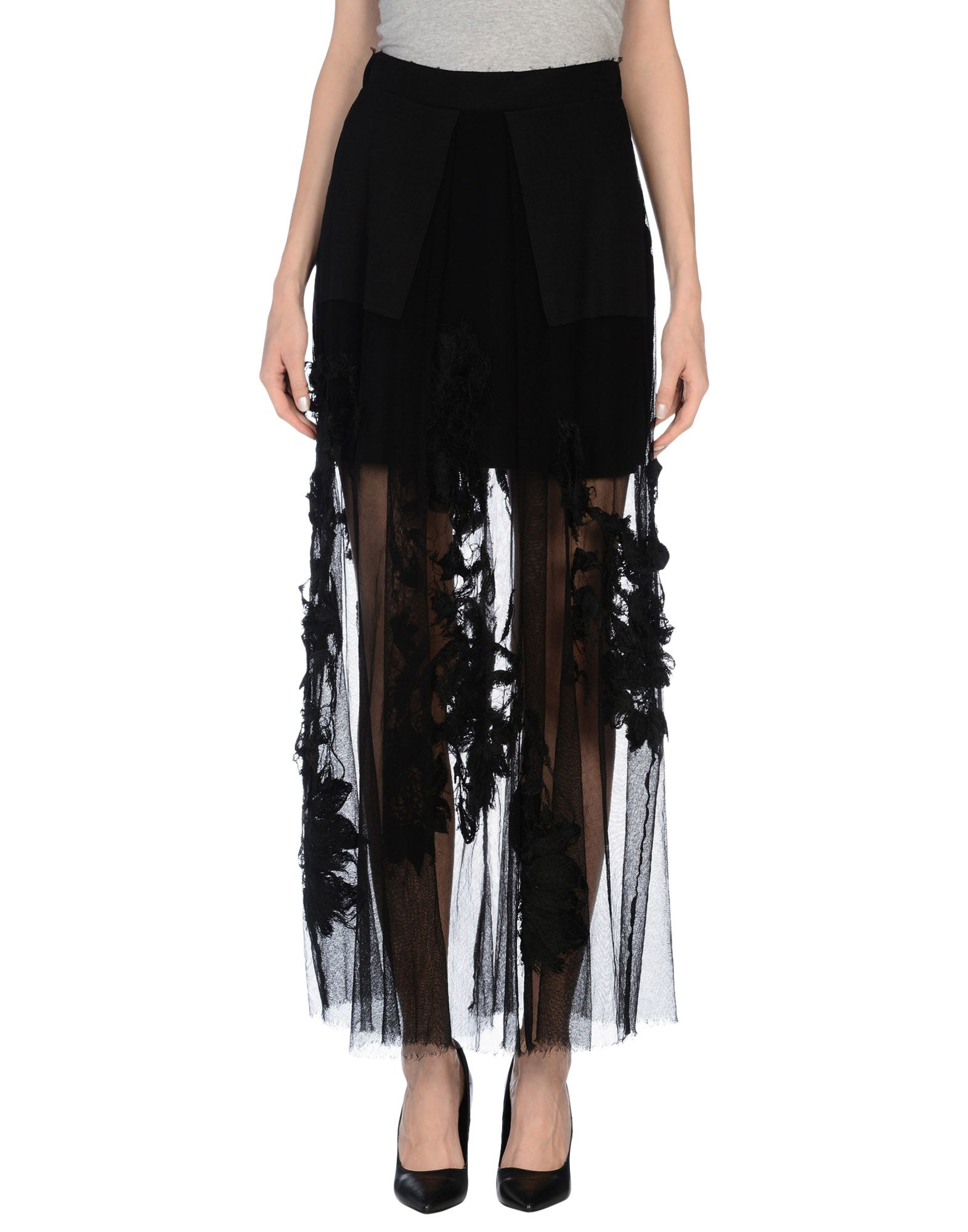 Find black sheer maxi skirt at ShopStyle. Shop the latest collection of black sheer maxi skirt from the most popular stores - all in one place.