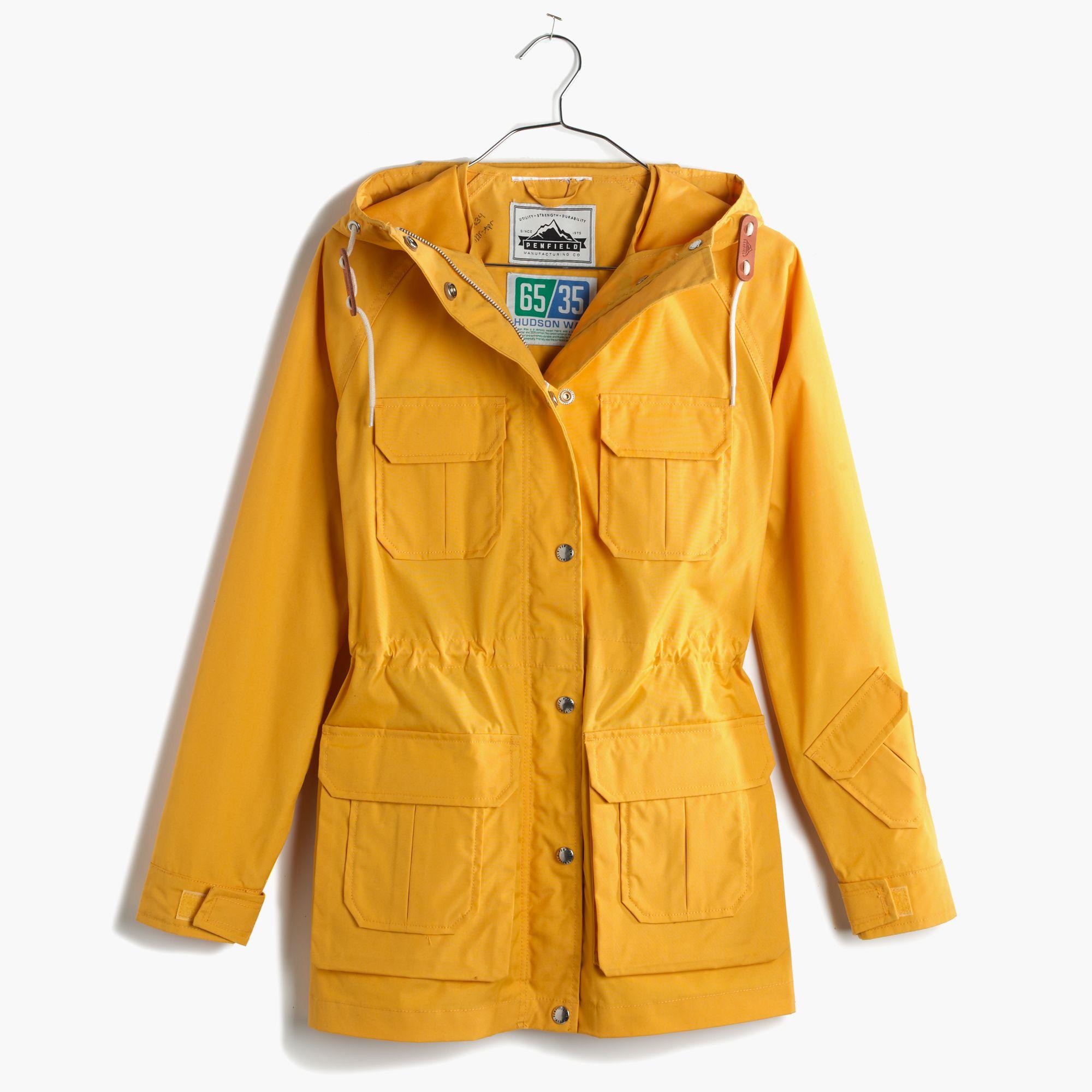 Madewell Penfield® Vassan Parka Jacket in Yellow | Lyst