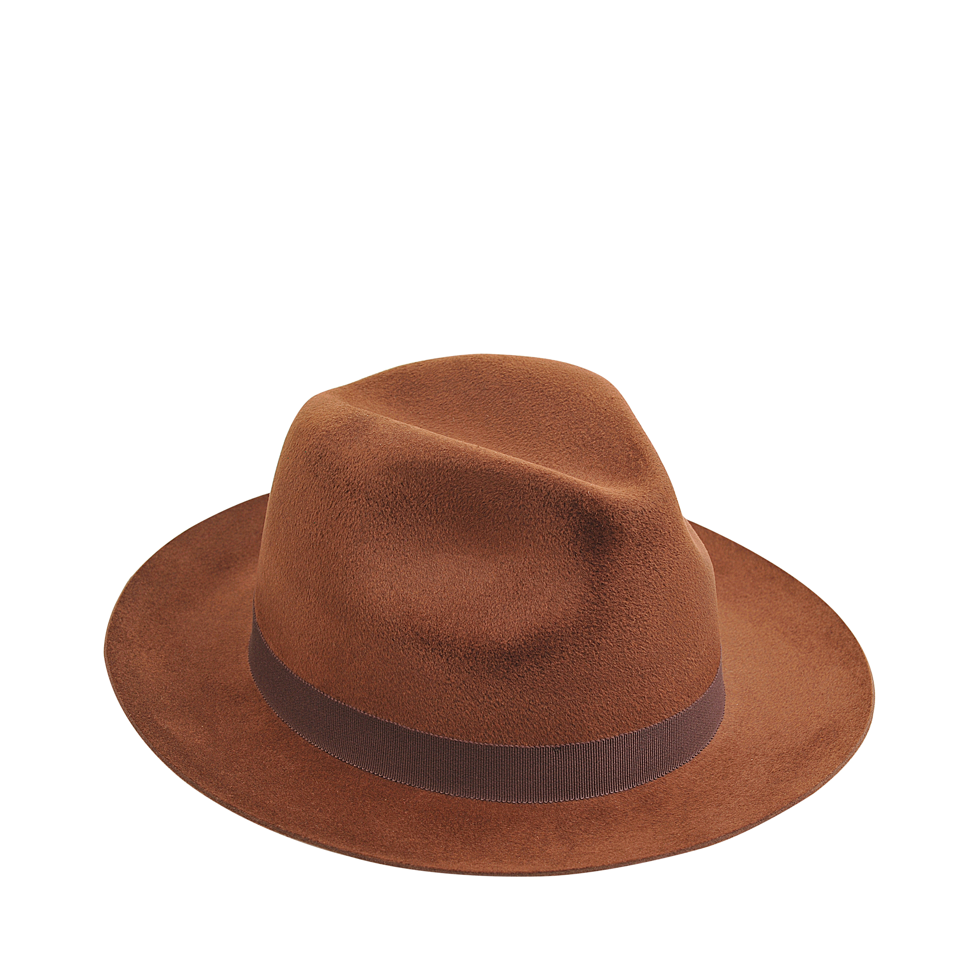 Lyst - Larose Small Fedora Hat in Brown 3bfb5e3f6d7