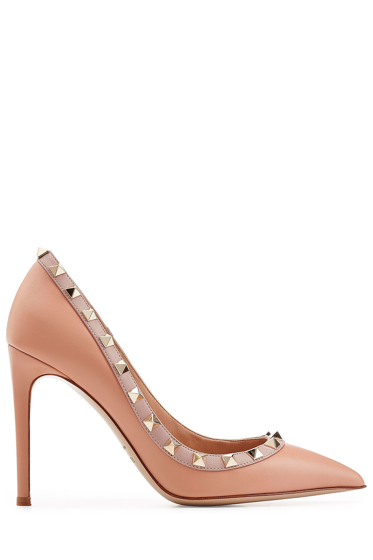 Valentino Leather Rockstud Pumps low price for sale zZhtzRuVD