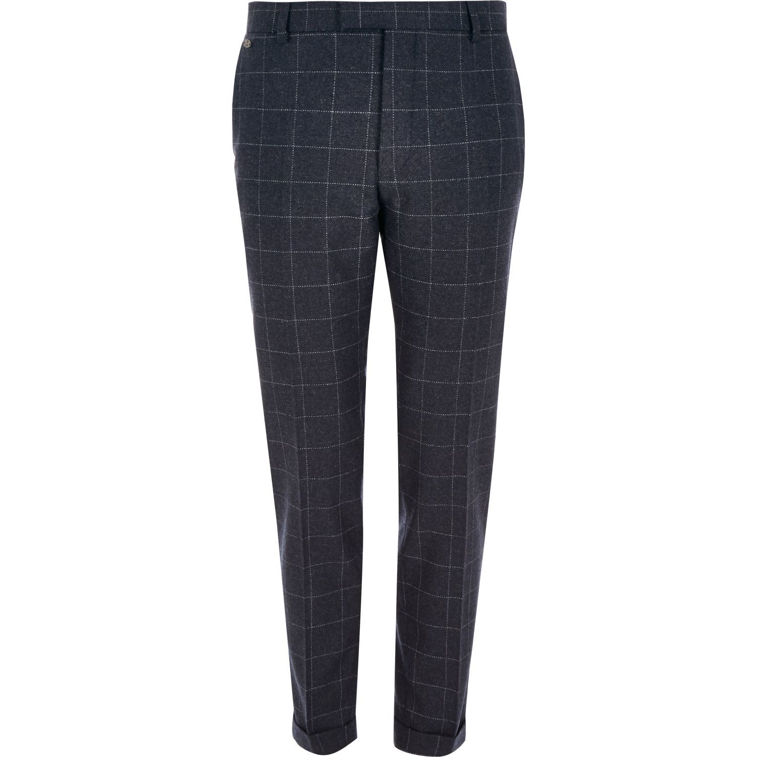 River Island Cropped Trousers Mens