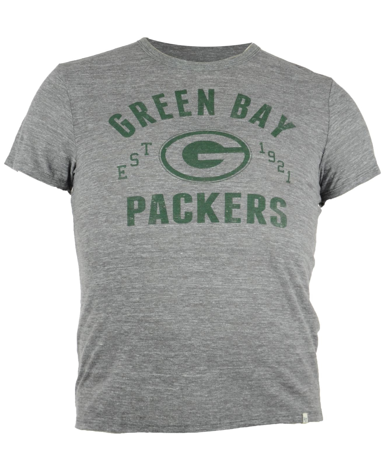 47 brand men 39 s green bay packers vintage tri blend t shirt