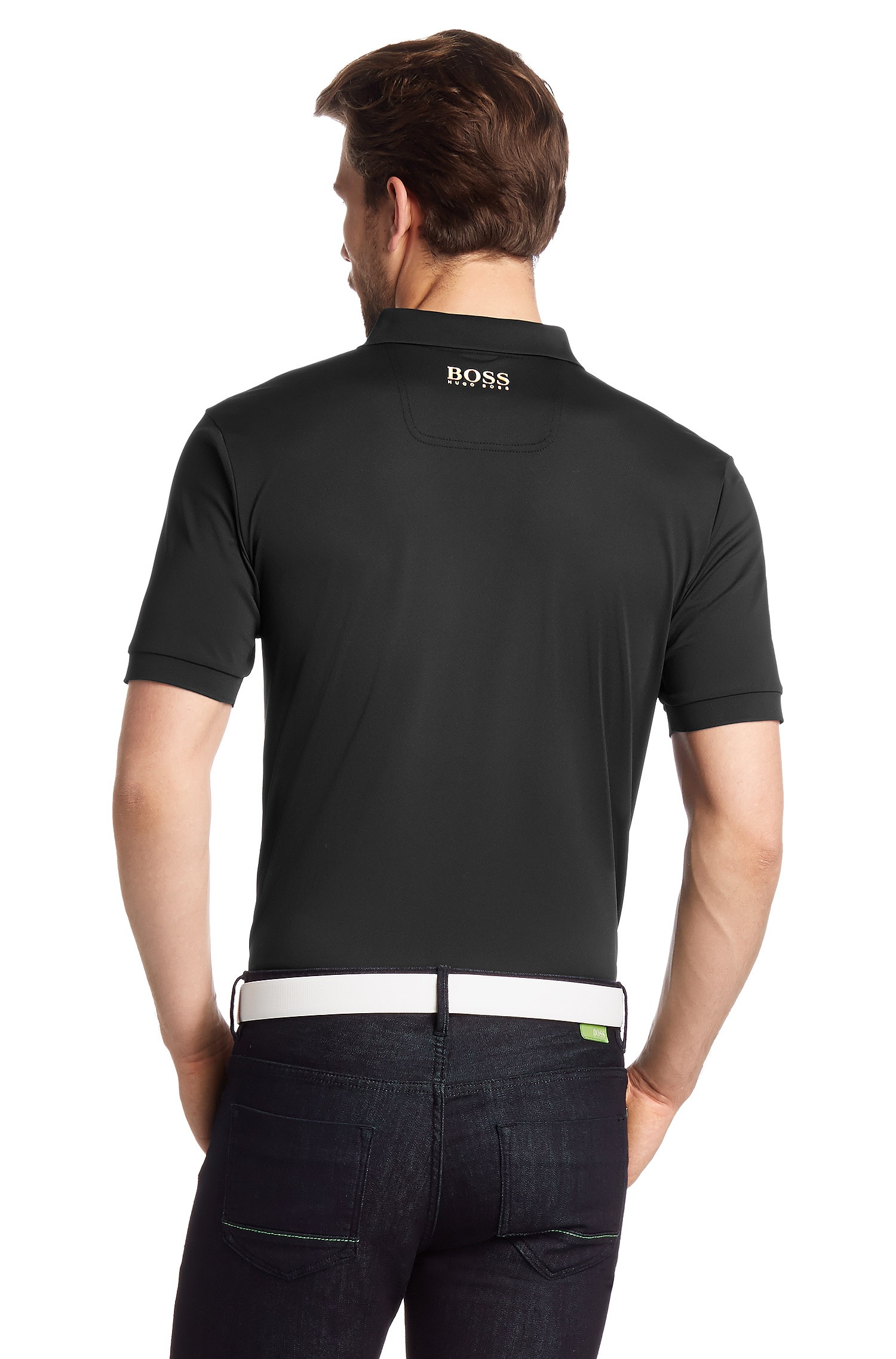 2465fc817 BOSS Green Regular Fit Golf Polo Shirt 'Prek Pro' With Uv Protection ...