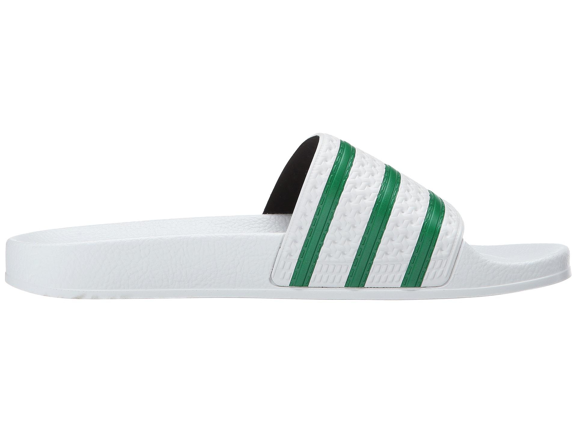6d13e5384 Lyst - adidas Originals Adilette in Green