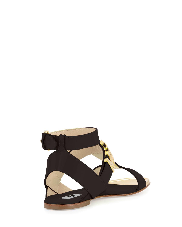 Moschino Flat Sandals 85E6la38
