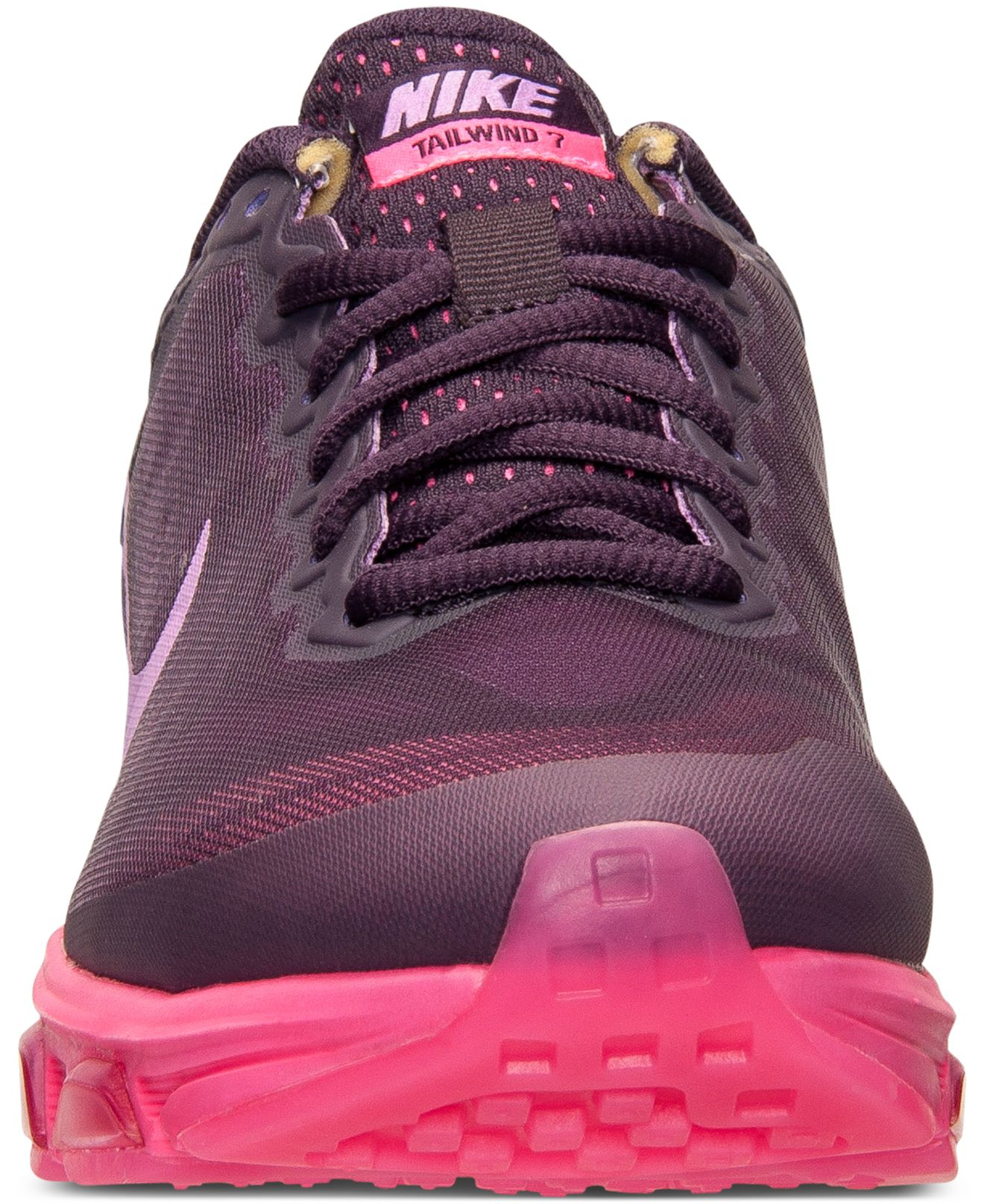 big sale 27f6e e9735 Nike Women s Air Max Tailwind 7 Running Sneakers From Finish Line in Purple  - Lyst