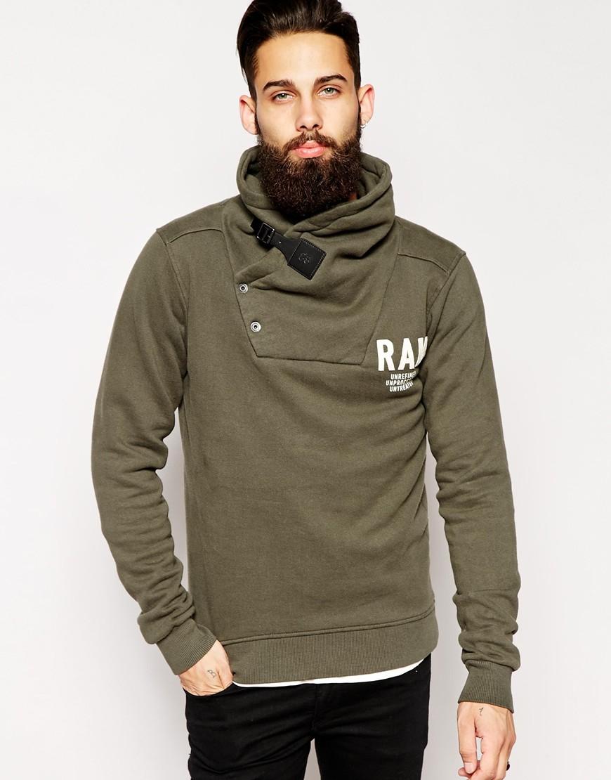 Lyst G Star Raw G Star Shawl Sweatshirt Art Aero Logo In