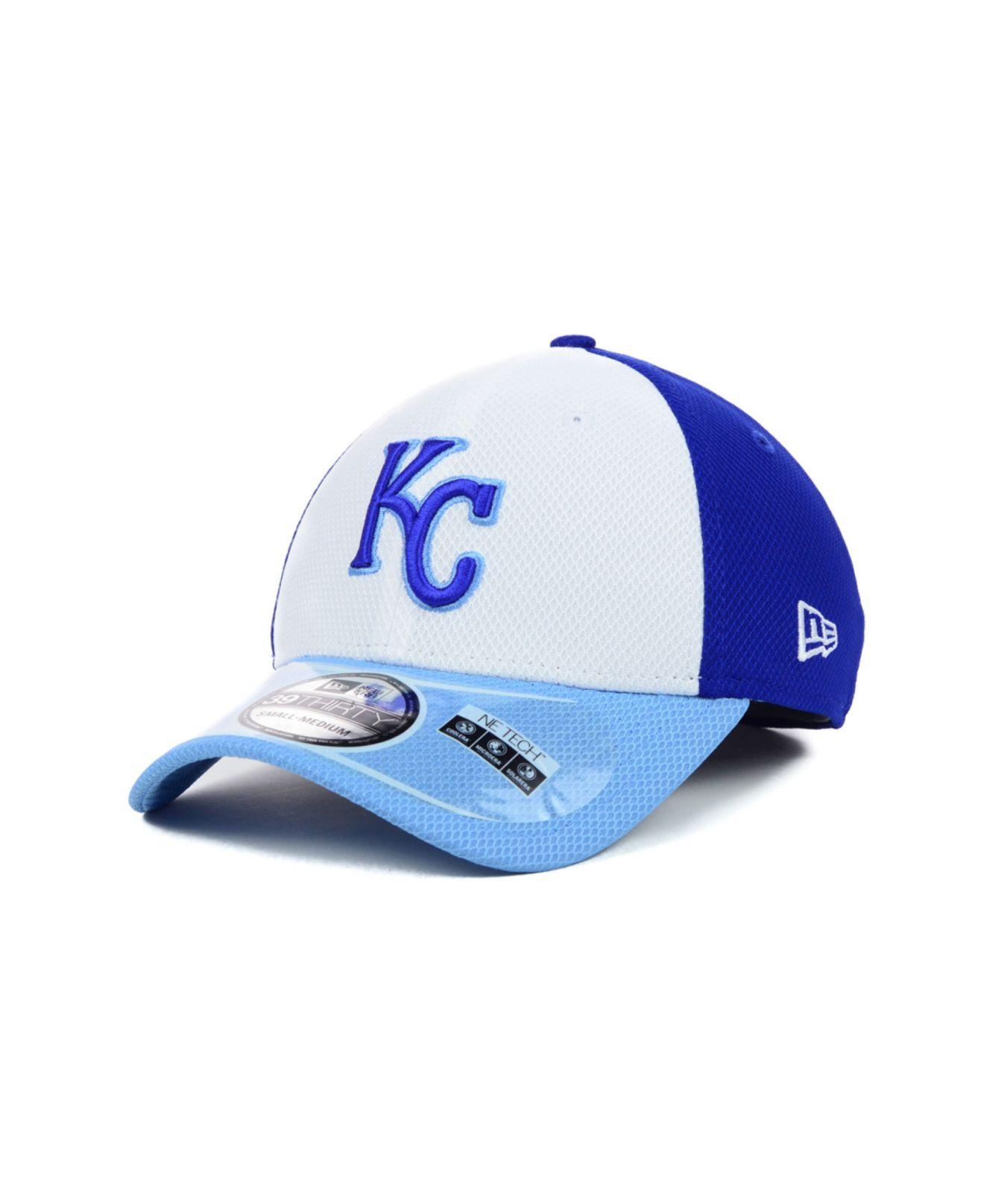 premium selection e64de 7d734 Lyst - Ktz Kansas City Royals Diamond Era 39Thirty Cap in Blue for Men