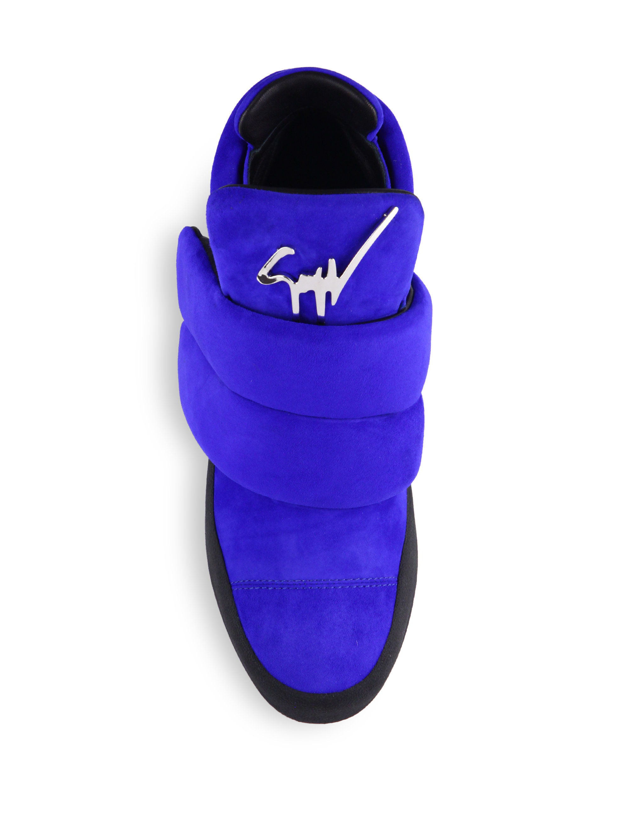 Blue Giuseppe Shoes