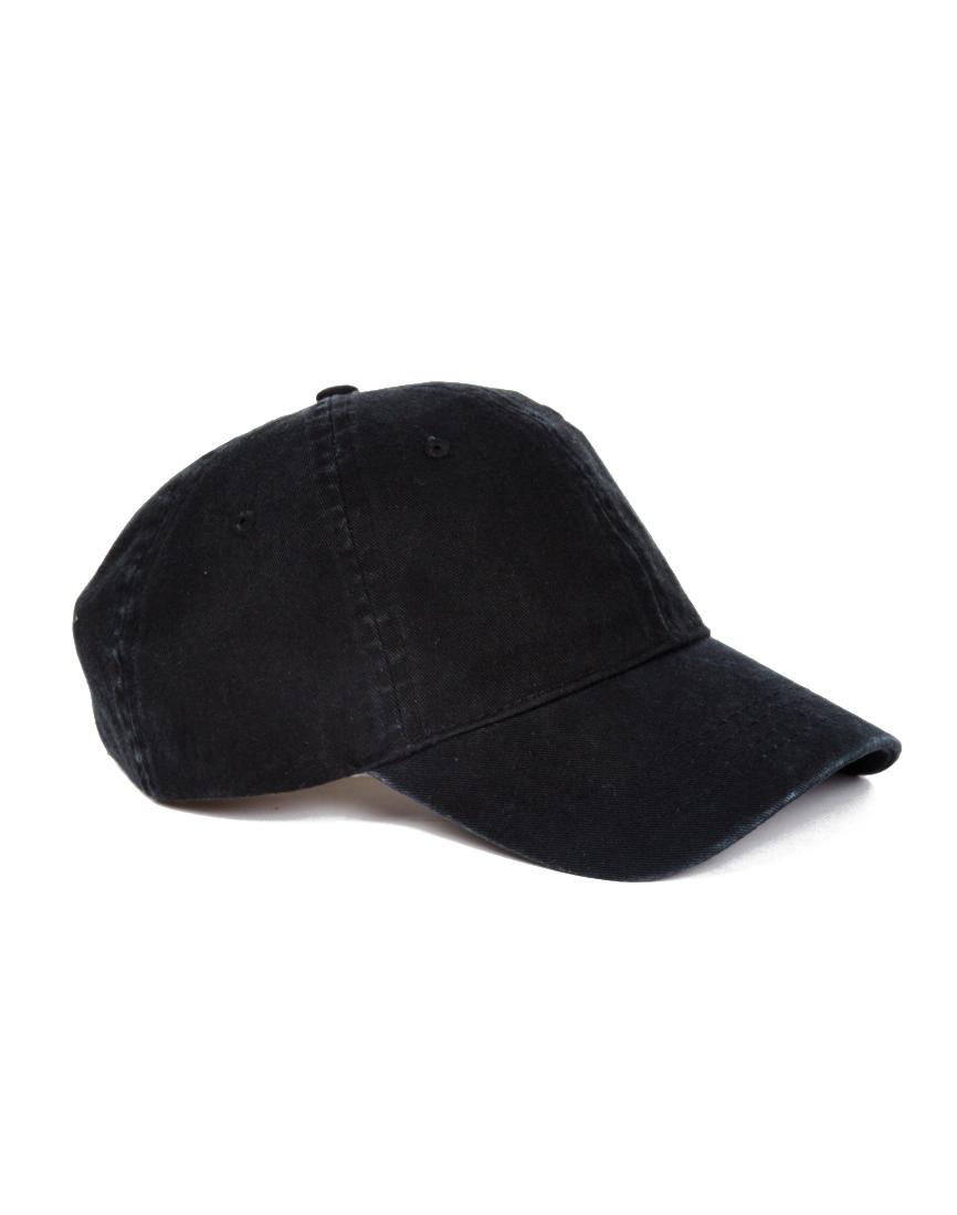 863faa03c44 Lyst - WOOD WOOD Low Profile Cap Black in Black for Men