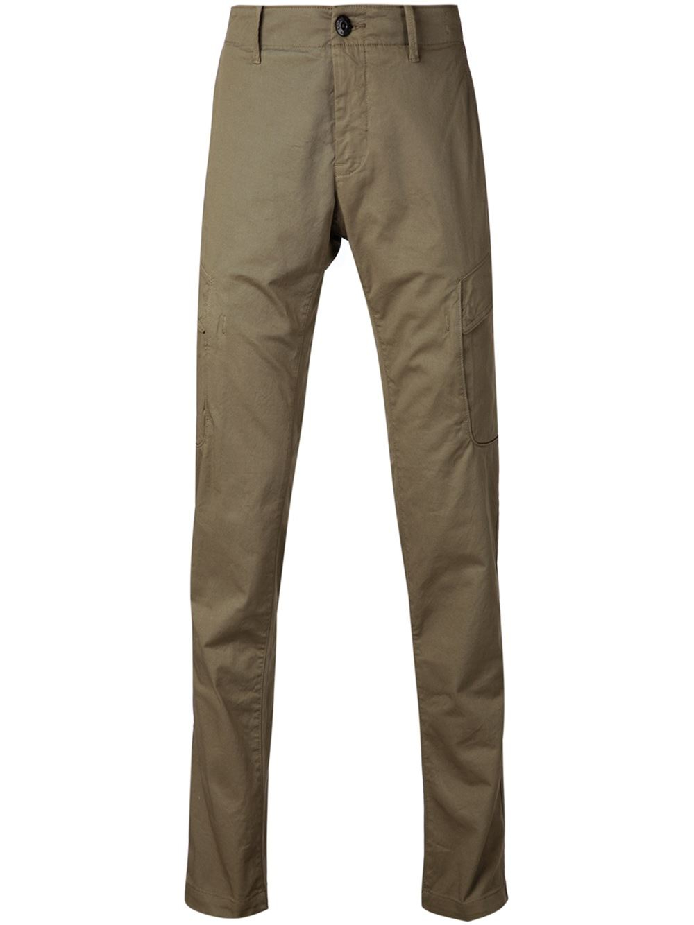 Stone Island Cargo Trousers In Green For Men Lyst