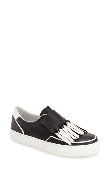 Tod's Fringed sneakers Xr3vvA2